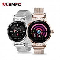 US $37.37 35% OFF|LEMFO H2 2019 New Luxury Smart Fitness Bracelet Women Blood Pressure Heart Rate Monitoring Wristband Lady Watch Gift For Friend -in Smart Wristbands from Consumer Electronics on Aliexpress.com | Alibaba Group
