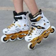 5226.66 руб. |Белый черный цвет для взрослых рядный слалом коньки роликовые коньки обувь Высокое качество Слалом ролик обувь-in Обувь для роликов from Спорт и развлечения on Aliexpress.com | Alibaba Group