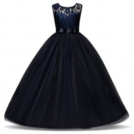 US $7.68 25% OFF|5 14 Years Kids Dress for Girls Wedding Tulle Lace Long Girl Dress Elegant Princess Party Pageant Formal Gown for Teen Children-in Dresses from Mother & Kids on Aliexpress.com | Alibaba Group
