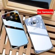 87.89 руб. 45% СКИДКА|Чехол для samsung A7 2018 чехол силиконовый прозрачный чистый чехол, корпус чехол для samsung Galaxy A7 A8 A6 S9 плюс 2018 Note 9 крышка купить на AliExpress