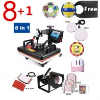 US $189.0 30% OFF|Promotions 30*38CM 8 in 1 Combo Heat Press Machine Sublimation Heat Press Heat Transfer Printer For Mug/Cap/T shirt/Phone Cases-in Printers from Computer & Office on Aliexpress.com | Alibaba Group