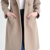 Женское пальто Dewberry ME-1160001Z6612014 - Пальто пастельных тонов