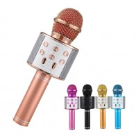 US $4.28 40% OFF|Professional  Bluetooth Wireless Microphone Speaker Handheld Microphone Karaoke Mic Music Player Singing Recorder KTV Microphone-in Microphones from Consumer Electronics on AliExpress - 11.11_Double 11_Singles