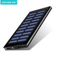 US $9.57 76% OFF|Solar 30000mah Power Bank External Battery 2 USB LED Powerbank Portable Mobile phone Solar Charger for Xiaomi mi iphone Samsung-in Power Bank from Cellphones & Telecommunications on Aliexpress.com | Alibaba Group