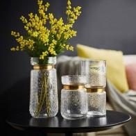 Прозрачная водная Гидропоника веревка в цветочек сухая Цветочная ваза ложная Цветочная бутылка домашний декор для стола скандинавские сте... - Шикарные вазы