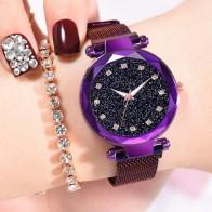 US $3.77 30% OFF|النساء الفاخرة الساعات السيدات المغناطيسي سماء نجمية ساعة الأزياء الماس الإناث الكوارتز المعصم relogio feminino zegarek damski-في ساعات نسائية من ساعات اليد على Aliexpress.com | مجموعة Alibaba