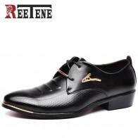 1349.73 руб. 48% СКИДКА|REETENE Лидер продаж Мужские модельные туфли мягкие острый носок Классические модные деловые туфли оксфорды для мужчин Лоферы женщин Новы купить на AliExpress