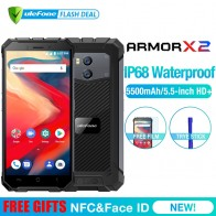 6211.45 руб. 24% СКИДКА|Ulefone Armor X2 водонепроницаемый IP68 3g смартфон 5,5