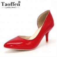 €21.95 49% de DESCUENTO|TAOFFEN mujeres delgadas zapatos de tacón alto stiletto punta puntiaguda calidad zapatos de tacón para mujer más tamaño grande 30  50 P16613 1-in Zapatos de tacón de mujer from zapatos on AliExpress - 11.11_Double 11_Singles