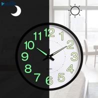 1245.87 руб. |12 дюймов 30 см Светящиеся Настенные часы светится в темноте кварцевые часы для детской комнаты или спальни гостиной Висячие часы украшение для дома купить на AliExpress