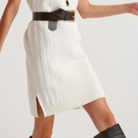 Женское платье Dilvin ME-101A02748_Ekru - платье на новый год