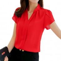 340.69 руб. 44% СКИДКА|Летние блузки 2019 плюс размер 3XL белая женская рубашка, блузка туника с коротким рукавом рубашки Мода Bodycon Досуг Шифоновая Блузка Топы-in Блузки и рубашки from Женская одежда on Aliexpress.com | Alibaba Group