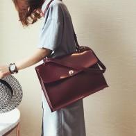 1147.34руб. 20% СКИДКА|Ретро мода женская большая сумка 2018 новая качественная женская дизайнерская сумка из искусственной кожи Дамский портфель сумка через плечо-in Сумки с ручками from Багаж и сумки on AliExpress - 11.11_Double 11_Singles