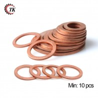 US $1.5 5% OFF|DIN7603 M4 M5 M6 M8 M10 M12 M13 M14 M16 M17 M18 M20 M22 M24 M26 Boat Red Brass Copper Crush Sealing Washer Flat Seal Gasket Ring-in Washers from Home Improvement on Aliexpress.com | Alibaba Group