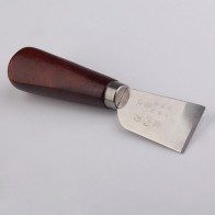 267.84 руб. 31% СКИДКА|Профессиональный для резки кожи Ножи с деревянной ручкой удобный переносной Craft Tool функциональных идеальный купить на AliExpress
