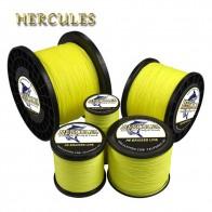 Hercules плетеная леска 8 нитей флуоресцентный желтый 100 м 300 м 500 м 1000 м 2000 м 1500 м шнур linha multifilamento для рыбалки купить на AliExpress