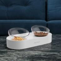 Оригинальная миска для кормления домашних животных, регулируемые двойные миски для подачи воды, миски для кошек, питьевая миска от Xiaomi Youpin - Кормушки для питомцев