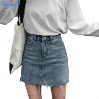 781.69 руб. 30% СКИДКА|Hzirip летние модные юбки с высокой талией Женские Карманы джинсовая юбка на пуговицах женские Saias 2018 Новая Универсальная джинсовая юбка кэжуал-in Юбки from Женская одежда on Aliexpress.com | Alibaba Group
