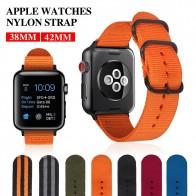 US $4.99 |MU SEN Colorful Nylon Apple Watch Nylon Watchband for Series  42mm 38mm fabric like strap iwatch 3/2/1 wrist band nylon watchban-in Watchbands from Watches on Aliexpress.com | Alibaba Group