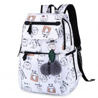 US $19.92 50% OFF|2019 New Women Emoji Shoulder Bag Best Travel Women Backpack Female Printing Waterproof School Knapsack mochila Bagpack Pack-in Backpacks from Luggage & Bags on Aliexpress.com | Alibaba Group