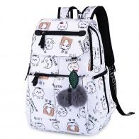 US $19.92 50% OFF 2019 New Women Emoji Shoulder Bag Best Travel Women Backpack Female Printing Waterproof School Knapsack mochila Bagpack Pack-in Backpacks from Luggage & Bags on Aliexpress.com   Alibaba Group