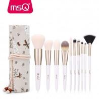 819.16 руб. 26% СКИДКА|MSQ Pro 10 шт., набор кистей для макияжа, пудра, основа для макияжа, тени для век, кисть для губ, инструмент с льняным чехлом или тонкая камедь, цилиндр-in Аппликатор теней для век from Красота и здоровье on Aliexpress.com | Alibaba Group