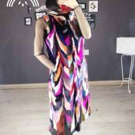 10540.95 руб. 38% СКИДКА|Новое подлинное натуральное Норковое меховое пальто Женская модная жилетка женский сексуальный жакет верхняя одежда на заказ любой размер-in Натуральный мех from Женская одежда on Aliexpress.com | Alibaba Group