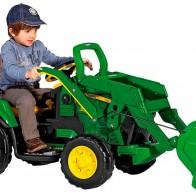 Детский экскаватор Peg Perego John Deere Ground Loader OR0068 - Детские электромобили