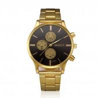 US $3.05 29% OFF|Fashion Man Crystal Stainless Steel Analog Quartz Wrist Watch men diamond gold watches jam tangan pria zegarki meskie kol saati -in Quartz Watches from Watches on Aliexpress.com | Alibaba Group