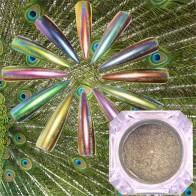 79.88 руб. 37% СКИДКА|0,2 г павлин голографический хамелеон ногтей Блеск порошок зеркало голографический лазер хромированный пигмент для маникюра украшения для ногтей-in Блестки для ногтей from Красота и здоровье on Aliexpress.com | Alibaba Group