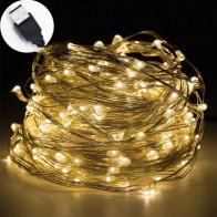 34.19 руб. 24% СКИДКА|10 м USB светодиодный свет шнура водонепроницаемый светодиодный медный провод Гирлянда праздник уличная гирлянда для рождественской вечеринки Свадебные украшения-in Гирлянды светодиодные from Лампы и освещение on Aliexpress.com | Alibaba Group