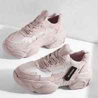 1304.55 руб. 30% СКИДКА|2019 весенне осенняя модная женская Повседневная дышащая обувь на платформе женские кроссовки на танкетке женская обувь, увеличивающая рост-in Женская вулканизированная обувь from Туфли on Aliexpress.com | Alibaba Group