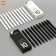 10Pcs/Lot Xiaomi KACO 0.5mm Xiomi Mi Signing Pen Gal Ink Smooth Writing Durable Signing Black Refill-in Smart Remote Control from Consumer Electronics on AliExpress