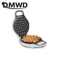 Портативная электрическая мини-машинка DMWD из Гонконга для яиц, вафельница с пузырьками, QQ, яичный омлет Абердин, Eggettes, буфет для тортов, желе...