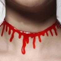Чокер в форме крови Хэллоуина - Аксессуары на Хэллоуин
