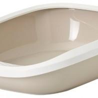 Купить Туалет-лоток для кошек SAVIC Gizmo L 52х39.5х15 см мокка по низкой цене с доставкой из маркетплейса Беру