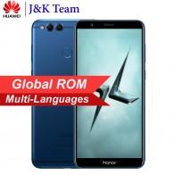 """Глобальный ПЗУ Huawei Honor 7X 5.93 """" Широкоэкранный 2160 * 1080pix Обновление OTA Мобильный телефон Восьмиядерный 2,4 Двойная задняя камера 16MP купить на AliExpress"""