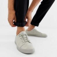 Серые кроссовки с отделкой на носке ASOS DESIGN