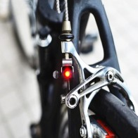 MTB Mini V Brake Bike Light Tail Rear Bicycle Light Cycling LED Light High Brightness Waterproof Lamp Cycling Accessories-in Bicycle Light from Sports & Entertainment on AliExpress