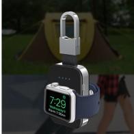 812.85 руб. 31% СКИДКА|QI Беспроводное зарядное устройство для Apple Watch band 4 42 мм/38 мм iWatch 3 4 портативный смарт часы внешний аккумулятор брелок портативное зарядное устройство-in Батарейки для часов from Ручные часы on Aliexpress.com | Alibaba Group