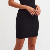 Женское платье Dilvin ME-101A02665_Siyah - платье на новый год