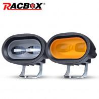 RACBOX 6 светодио дный 20 Вт светодиодный рабочий свет бар для вождения автомобиля противотуманная фара offсветодио дный road светодиодный Рабочий фонарь автомобиль грузовик внедорожник везсветодио дный деход светодиодный автомобиль модифицированный стиль купить на AliExpress