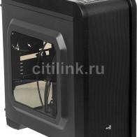 Купить Корпус mATX AEROCOOL Qs-240,  черный в интернет-магазине СИТИЛИНК, цена на Корпус mATX AEROCOOL Qs-240,  черный (338858) - Москва