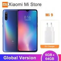 24176.31 руб. 18% СКИДКА|Глобальная версия Xiaomi mi 9 mi 9 смартфон 6 ГБ 64 Гб Snapdragon 855 Восьмиядерный 6,39