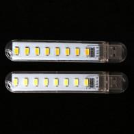 40.53 руб. 17% СКИДКА|Мини usb лампы мобильный Мощность 8 светодиодный DC 5 V Компьютер лампа Портативный Ночь USB гаджеты освещения купить на AliExpress