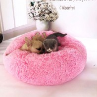 US $14.25 30% OFF|Round Dog Bed Washable Pet Cat Bed Dog Breathable Lounger Sofa for Small Medium Dogs Super Soft Plush Pads Products for Dogs-in Houses, Kennels & Pens from Home & Garden on Aliexpress.com | Alibaba Group