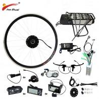 17652.17 руб. 32% СКИДКА|250 W/350 W/500 W 36 V 48 V заднее крепление, для аккумулятора комплект для электронного велосипеда электрическое преобразование велосипедов Комплект для 20