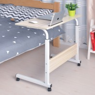 US $33.0 70% OFF|Computer Table Adjustable Portable Laptop Desk Rotate Laptop Bed Table Can be Lifted Standing Desk  60*40CM-in Laptop Desks from Furniture on AliExpress - 11.11_Double 11_Singles