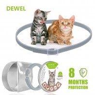US $5.68 29% OFF|Dewel Summer Anti insect Cat Dog Collar Anti Flea Mosquitoes Ticks Waterproof Cat Flea Collar for Pet 8 Months Protection-in Collars from Home & Garden on Aliexpress.com | Alibaba Group