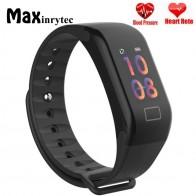 € 14.05 |Maxinrytec F1 más F601 pantalla a Color deportes pulsera inteligente presión arterial Monitor de frecuencia cardíaca inteligente banda Fitness Tracker de la muñeca en Pulseras inteligentes de Electrónica en AliExpress.com | Alibaba Group